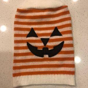 Dog Jack O' Lantern Halloween Sweater